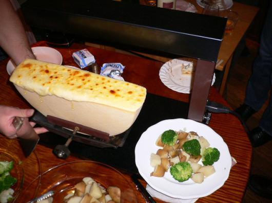 チーズを食い尽くす会(ラクレット1)
