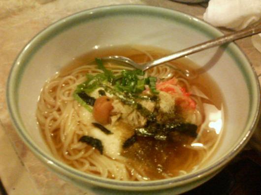 ポッサムチプの温麺