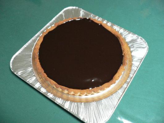 チョコレートタルト1