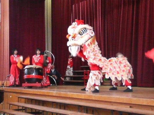 中国獅子舞1