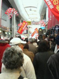 30日の東山商店街