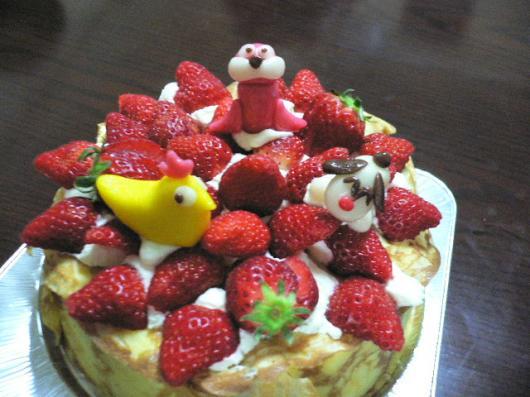 娘のケーキ2