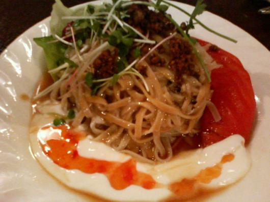 海月食堂「冷製坦々麺」