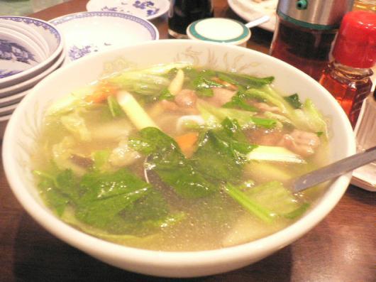 西神戸牡丹園(五目スープ)