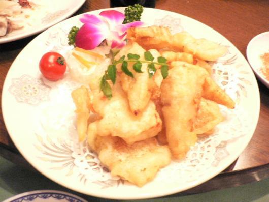 西神戸牡丹園(筍の天ぷら)