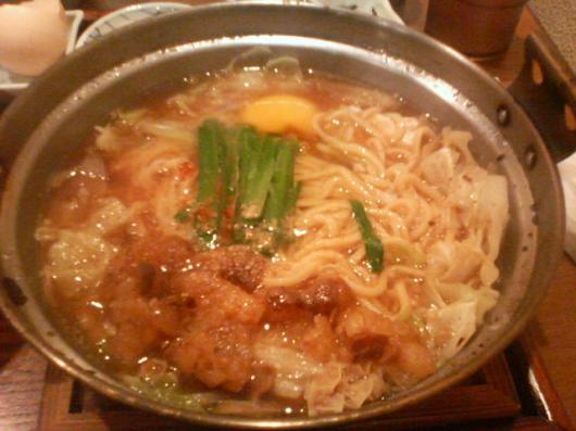 魯山(醤油モツ鍋)