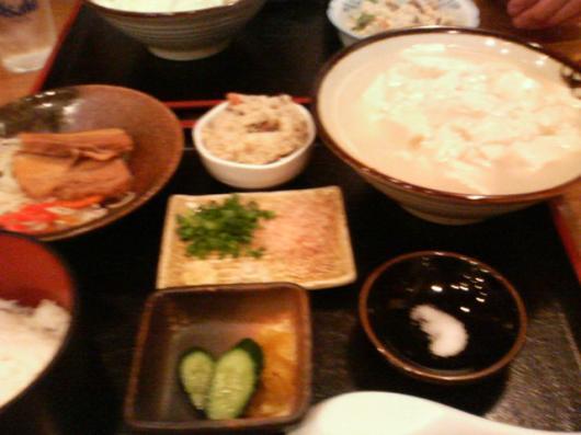 OKINAWA(ゆし豆腐定食)