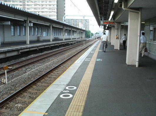 新長田駅ホーム