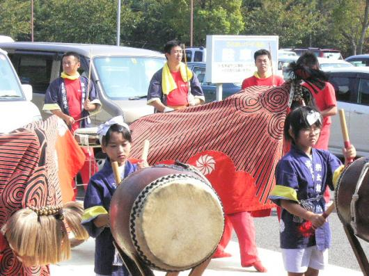 讃岐うどんツアー(18.09.30)獅子舞5