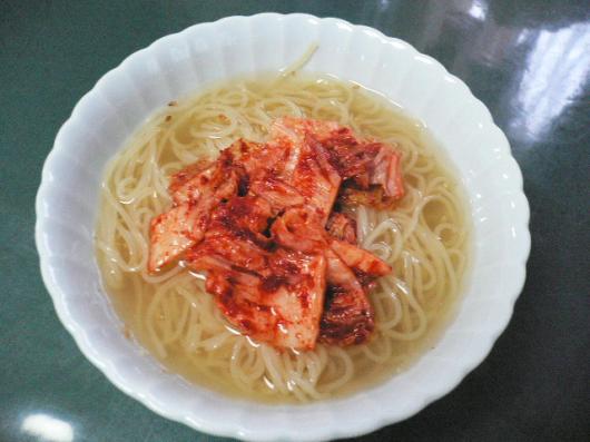 トンチミ冷麺