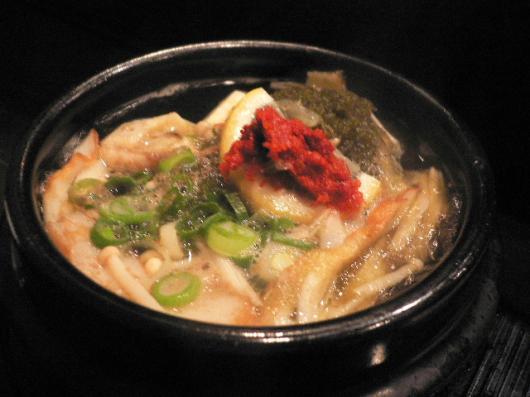 ちょこっと(韓国風湯豆腐)