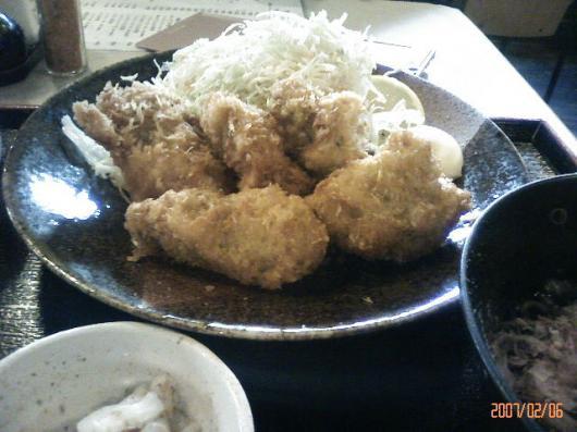 味加味(カキフライ定食)
