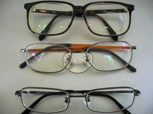 過去メガネ