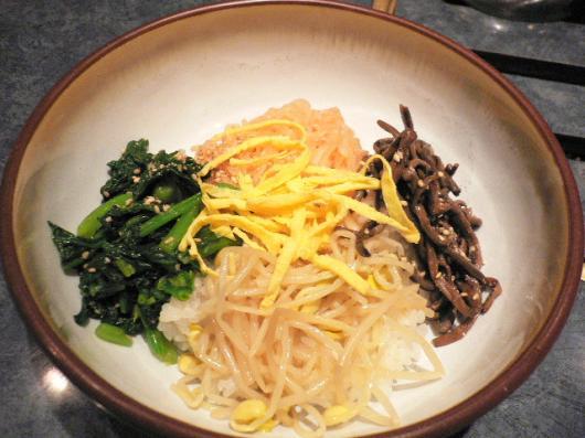 平壌冷麺(ピビンバ)