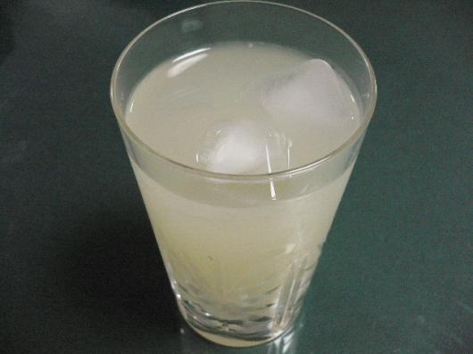 柚子れもん酒グラス