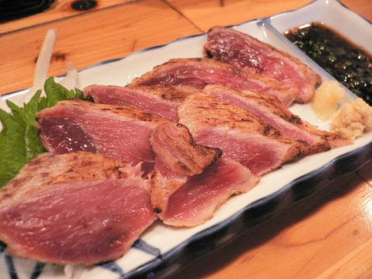 さつま(ホホ肉のタタキ)
