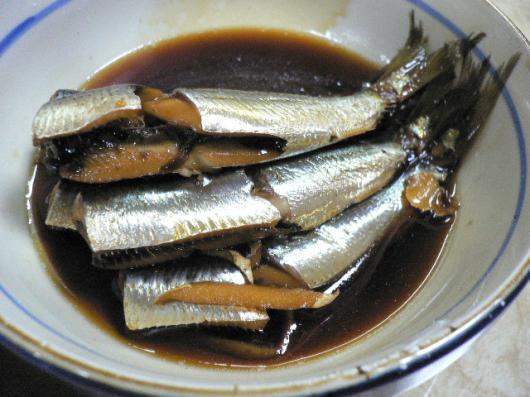 龍力(鰯の生姜煮)