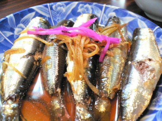 藤原(鰯の生姜煮)