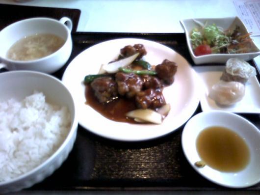芹菜(酢豚ランチ)