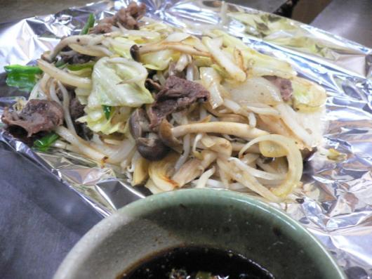 はま(野菜炒め)