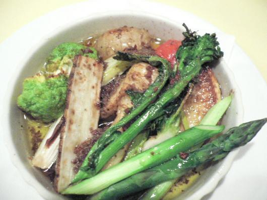 マルコ(野菜のオイル焼き)