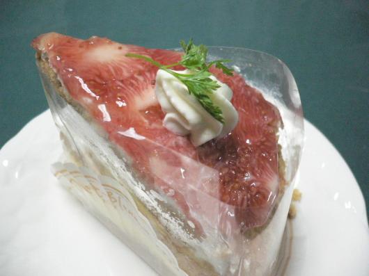 モンブラン(イチジクのケーキ)