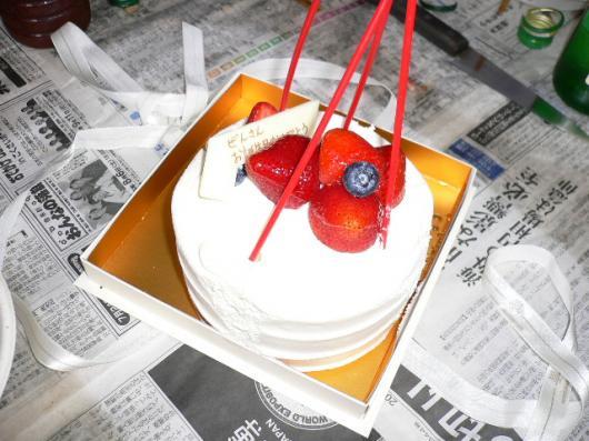 ぜんさんのバースデーケーキ
