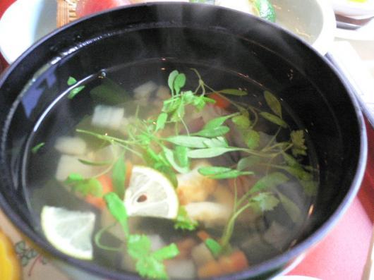蕎麦米の椀