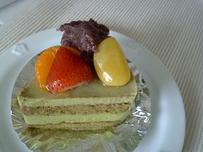 ひなた 抹茶ケーキ