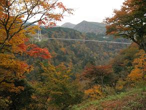 久住夢の吊り大橋