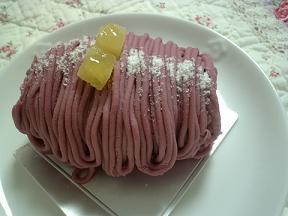 グランダジュール 紫芋モンブラン