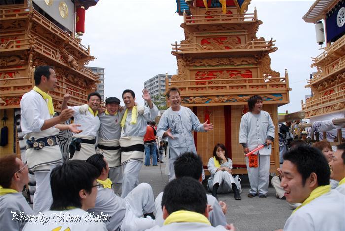 西条市の祭り 四国の祭り2009 in サンポート高松2 栄町上組だんじり(屋台)その1 香川県高松市 2009年5月4日