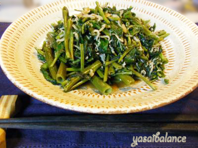 空芯菜レシピ