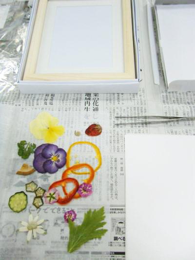 野菜ソムリエ講座(野菜と果物のインテリアアート)
