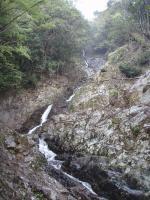 75m三段滝