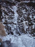 赤谷出だしの10m斜滝