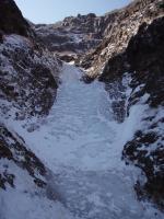 赤谷最後の10m二段滝