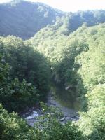 左岸径からの八久和川