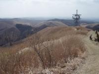 清水峠の電波塔