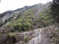 障子岳下部岩壁