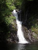 10m二段滝