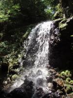 10m飛出滝
