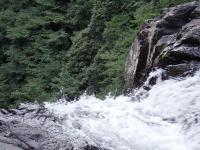 60m直瀑の落口