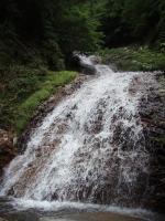 25m三段スラブ滝