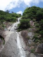 50m三段スラブ滝