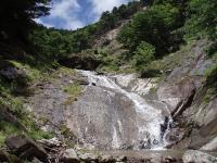 25m斜スラブ滝