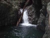 3mゴルジュ滝