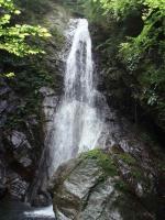 左俣大滝20m