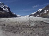 アイスフィールド氷原の舌端