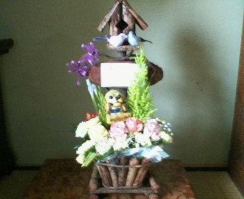 母の日の花をプレゼント